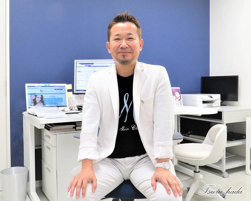 Maro's Skin Clinic院長 安井聖秀さん